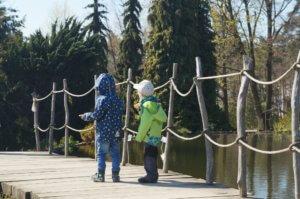 Botanická zahrada v Troji s dětmi