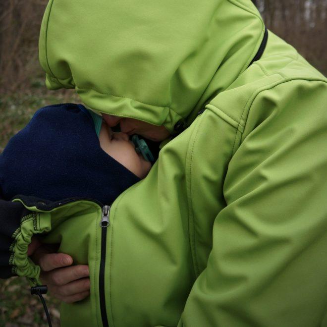 Nošení dětí v zimě