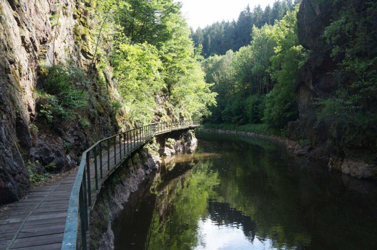 Kamenického a Riegrova stezka