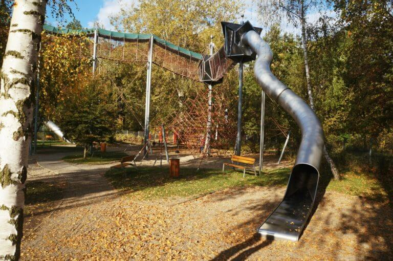 Pro šikovné šplhouny: Lanový park Vltavanů