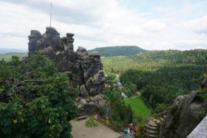 Skalní město u Jonsdorfu