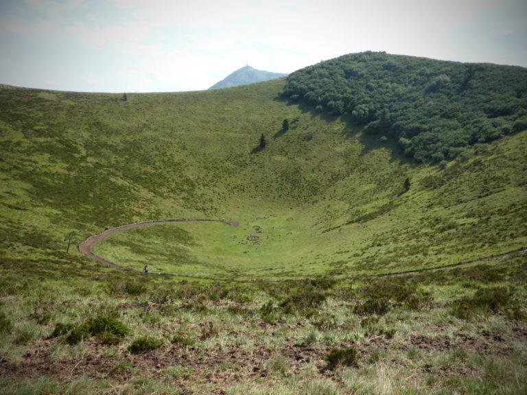 Země sopek – Auvergne