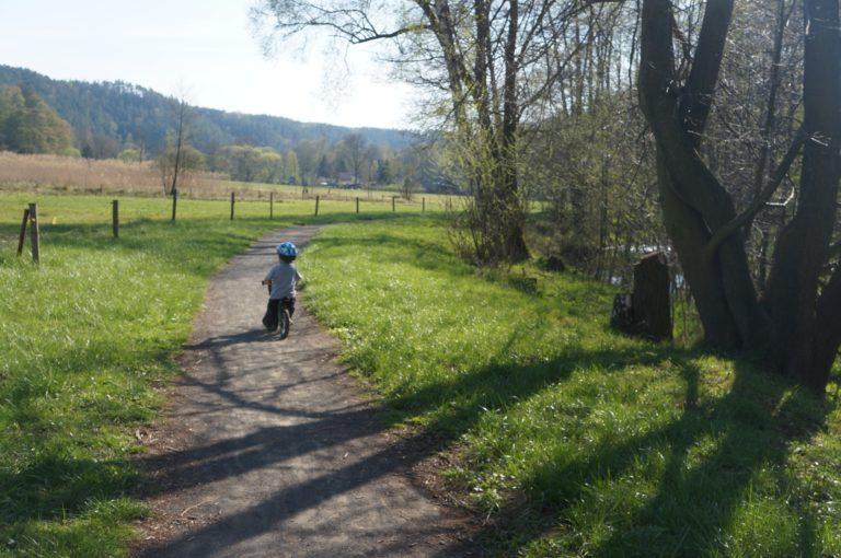 Parádní stezka v Srbské Kamenici