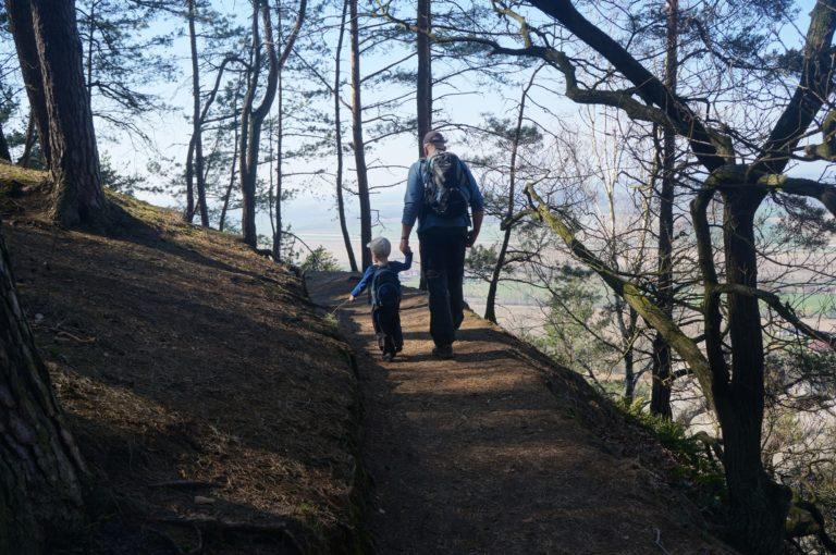 Z Krásné vyhlídky do Drábských světniček i s kočárkem
