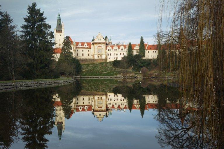 Zámecký park Průhonice s dětmi